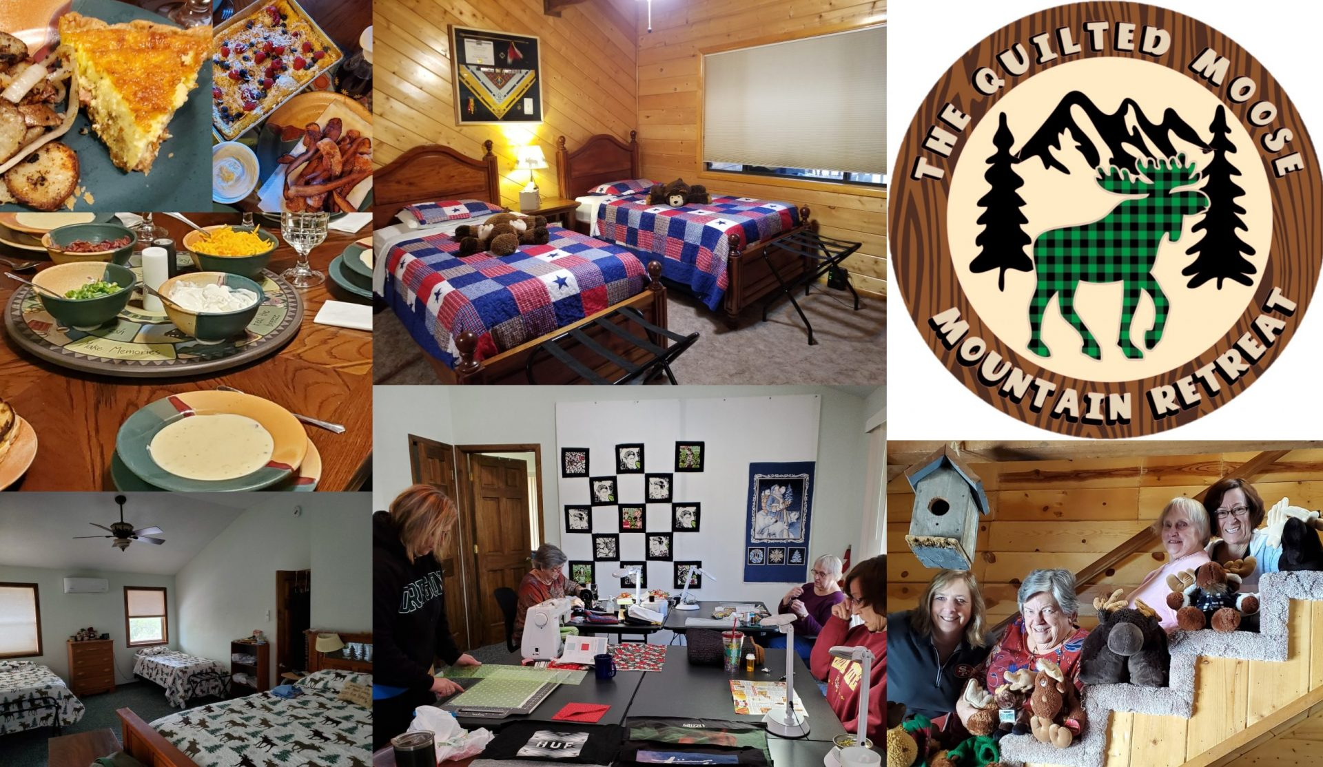 The Quilted Moose Mountain Retreat